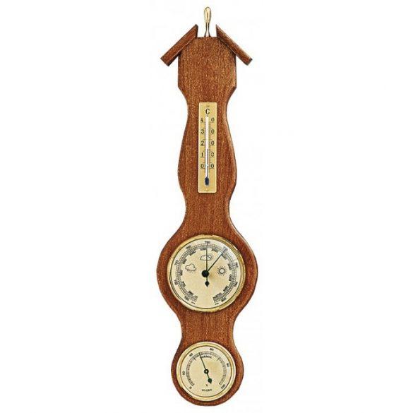 TFA Barométer légnyomásmérő, hőmérő és páratartalom mérővel 440X115mm 203054