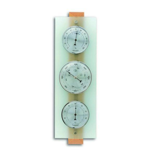 TFA BAROMÉTER 20.1067.05 kombináció  /légynyomásmérő, hőmérő és páratartalom mérő /