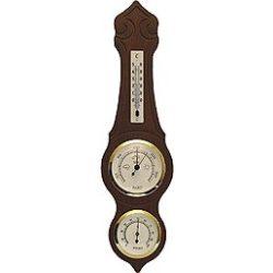 TFA Barométer légnyomásmérő, hőmérő és páratartalom mérővel 420X115mm 203970