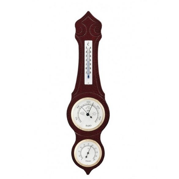 TFA Barométer légnyomásmérő, hőmérő és páratartalom mérővel 420X110mm 203973