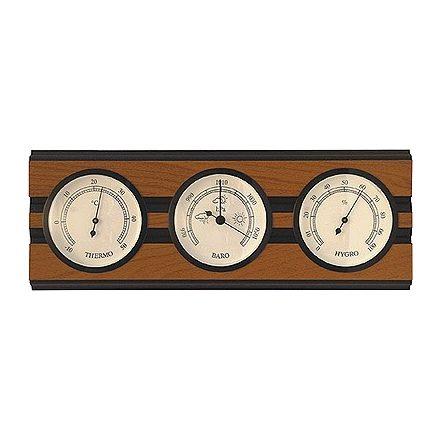 TFA Barométer kombináció elforgatható műszerek légynyomásmérő, hőmérő és páratartalom mérő   203974