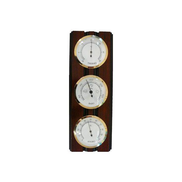 TFA Barométer kombináció elforgatható műszerek légynyomásmérő, hőmérő és páratartalom mérő   203975