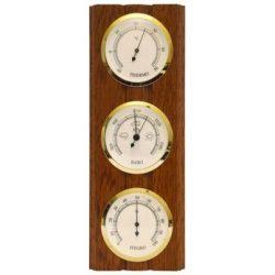 TFA Barométer kombináció elforgatható műszerek légynyomásmérő, hőmérő és páratartalom mérő   203976