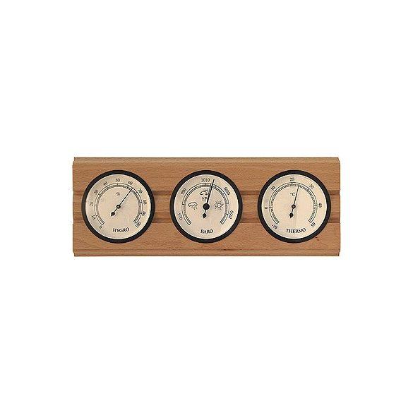 Barométer kombináció (légynyomásmérő, hőmérő és páratartalommérő)  TFA 203977