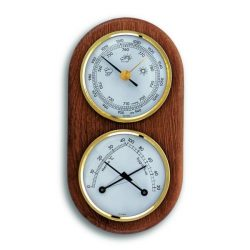 Kétrészes barométer kombináció  (barométer, hőmérő és páratartalommérő) TFA 20.1051