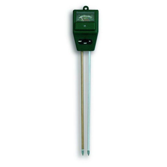 TFA Kombi- teszter növényekhez Ph-érték, nedvesség, és fényerő mérése