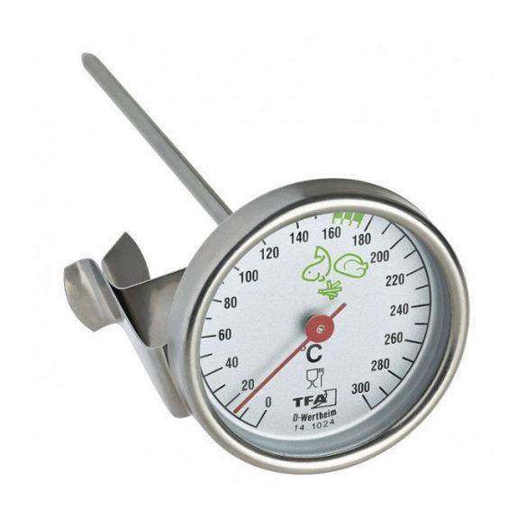 TFA Bimetál sütőbe rakható ételhőmérő,húshőmérő 14,1024,  sütőhőmérő