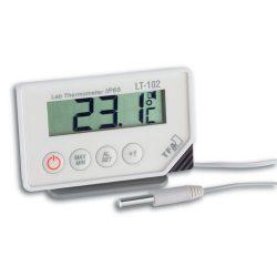 """TFA DIGITÁLIS """"KÜLSŐ"""" HŐMÉRŐ 30.1034 Digitális vezetékes érzékelővel ellátott laboratóriumi hőmérő"""