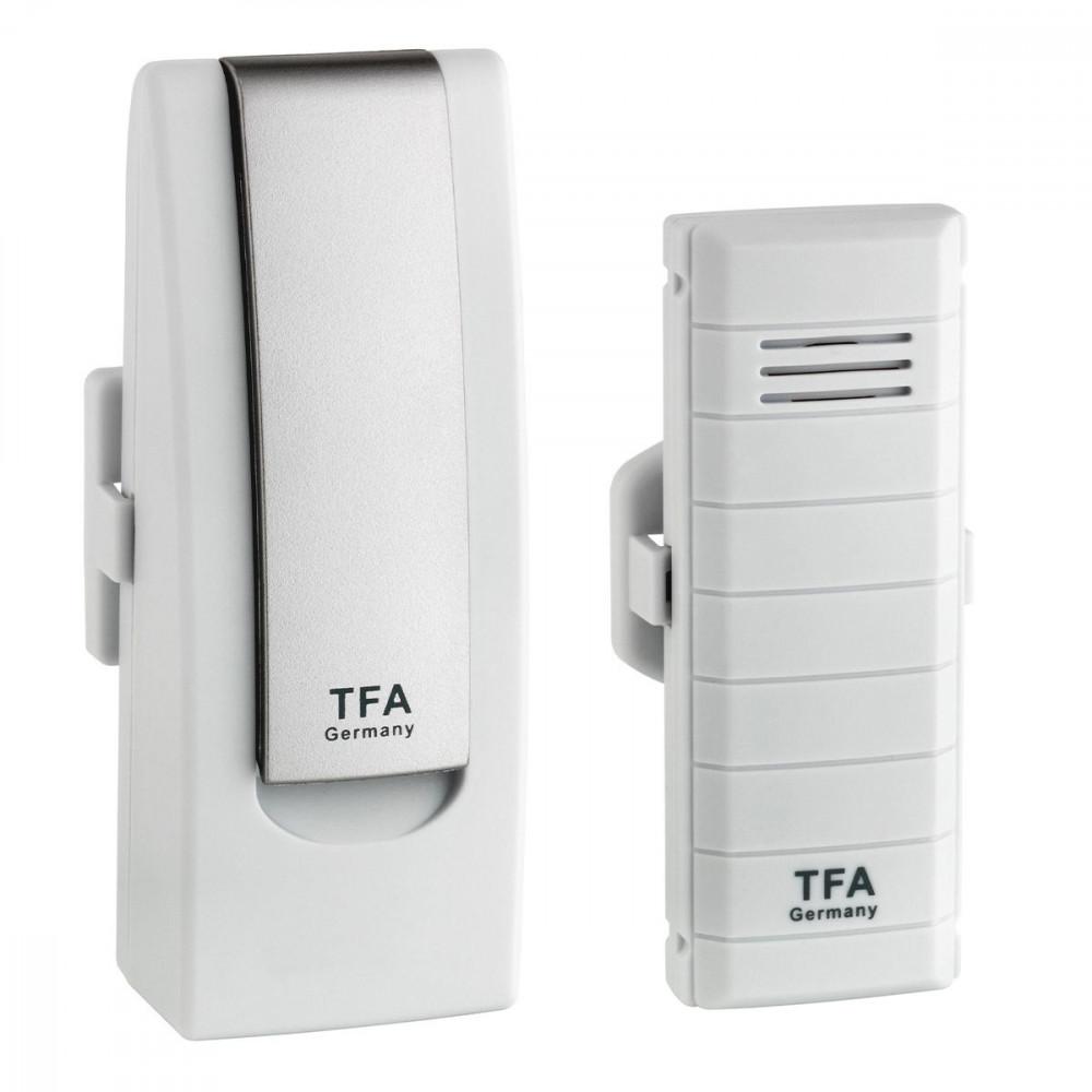 TFA DIGITÁLIS HŐMÉRŐ 31.4001.02 WEATHER HUB Okos telefonról figyelhető  othhoni hőmérő ae32529a8a