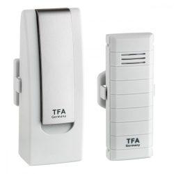 TFA DIGITÁLIS HŐMÉRŐ 31.4001.02 WEATHER HUB Okos telefonról figyelhető othhoni hőmérő, nem kell más hozzá csak internet hozzáférés.