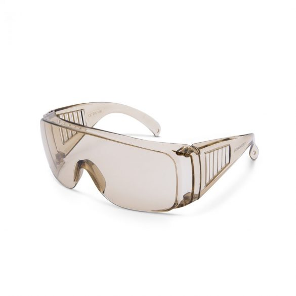 Handy Professzionális védőszemüveg UV védelemmel amber 10382AM