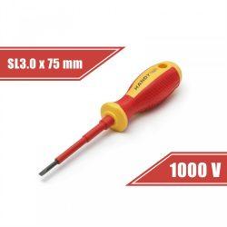 Handy 10560 Szigetelt csavarhúzó 0, 5 x 3.0 x 75 mm, 1000V-ig