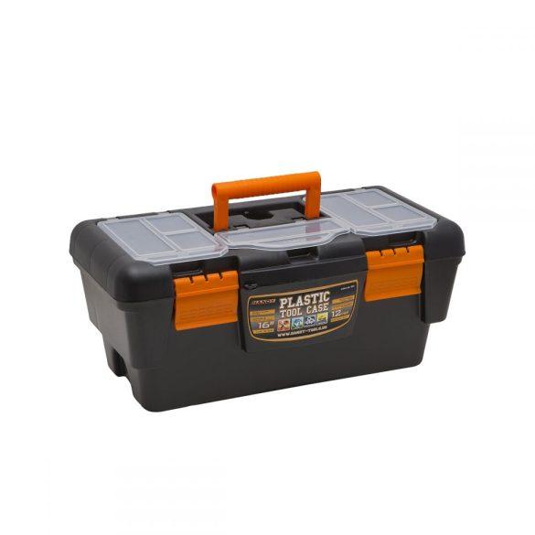 """Szerszámosláda HANDY Műanyag szerszámtartó, 16""""  400 x 220 x 180 mm 10911"""