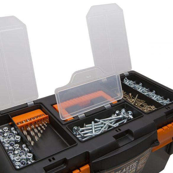 """Szerszámos láda HANDY Műanyag szerszámtartó,  22""""  550 x 300 x 260 mm  10913"""