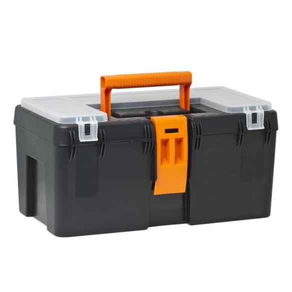 Szerszámos láda HANDY Műanyag szerszámtartó 400x230x200  10922