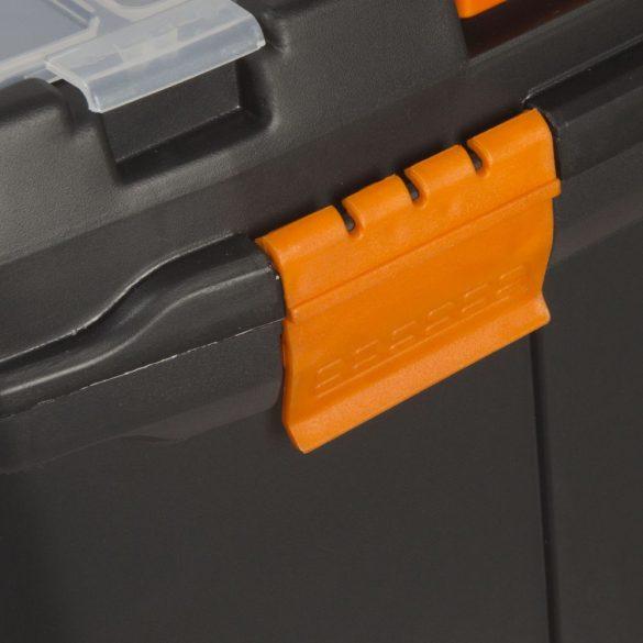 Szerszámos láda Handy 10932 Húzható többrészes műanyag szerszámtartó 18