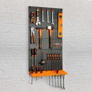Fali rendszerező, szerszámtartó - 3 db tábla, 50 x 33 cm Handy, 10944B