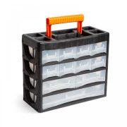 Hordozható kelléktároló szekrény 315 x 270 x 145 mm, Handy 10959B