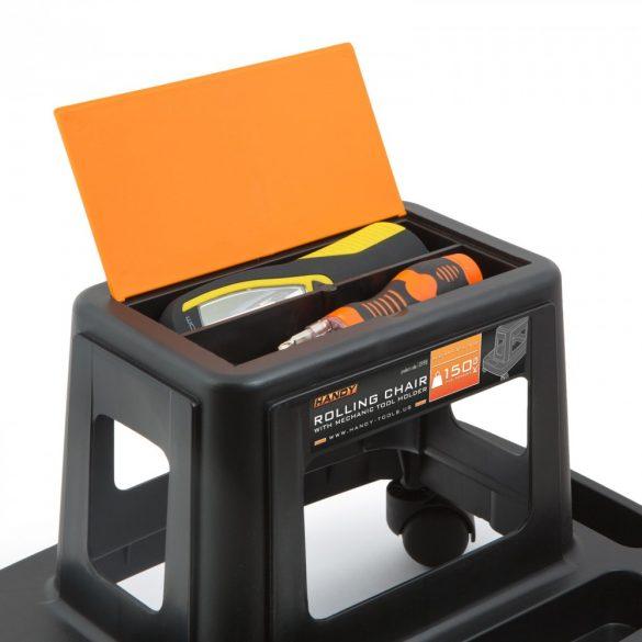 Szerszámtartó gurulós szék kerekes Handy 10998