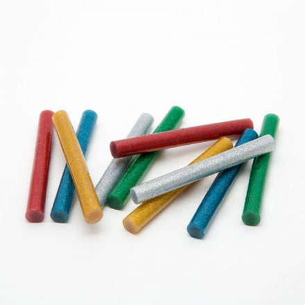 Handy ragasztórúd 11 mm-es színes glitters 10 db/csomag