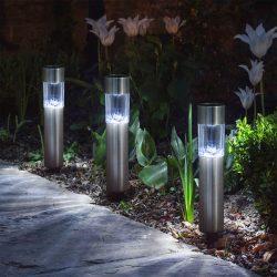 Led szolár lámpa 20 cm 11377