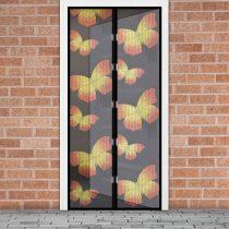 Delight Szúnyogháló függöny ajtóra mágneses,pillangó mintás  100x210 cm, Delight 11398C