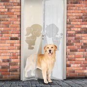 Szúnyogháló függöny ajtóra mágneses,fiú lány  - 11398F