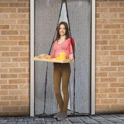 Delight Szúnyogháló függöny ajtóra mágneses,virág mintás  100x210 cm, Delight 11398H