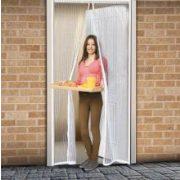Delight 11398WH - Rovarháló függöny ajtóra fehér