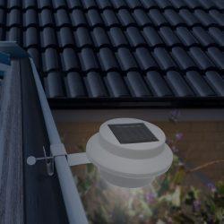 Szolár ereszcsatorna / kerítés fény 3 LED-del 11445