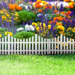 Virágágyás szegély / kerítés 60 X23 műanyag 11468