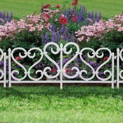 Virágágyás szegély / kerítés 62 X23 műanyag 11468A