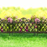 Virágágyás szegély kerítés 45 x 35 cm 11468B