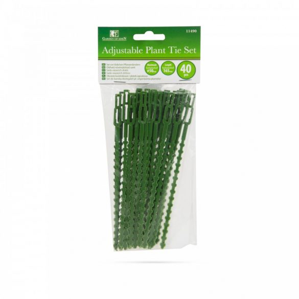 Oldható növénykötöző szett - 40 db - 165 mm 11490