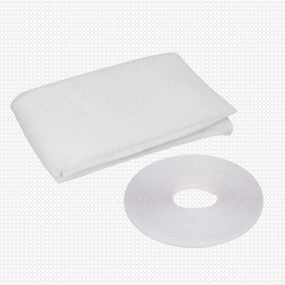 Delight 100X130 cm-es rovarháló szúnyogháló fehér ablakra 11601WH