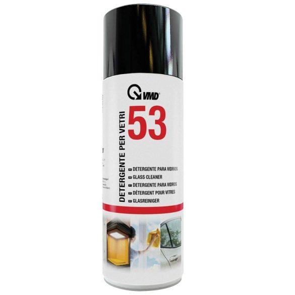 VMD 53 Üvegtisztító,csík és foltmentesen tisztít  400ml 17253