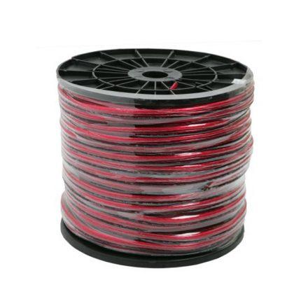 Hangszóró kábel 2 x 4,00 mm² 100 m/műanyag dob 20021