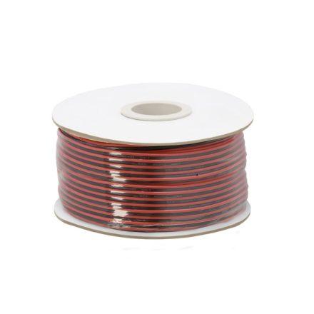 Hangszóró kábel 2 x 0,15 mm² 100 m/papírdob 20080