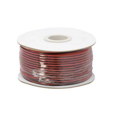 Hangszóró kábel 2 x 0,35 mm² 100 m / papírdob 20081