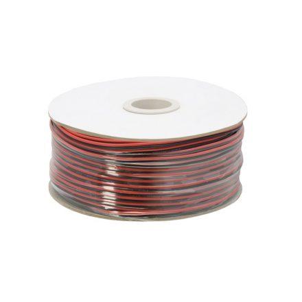 Hangszóró kábel  2 x 0,50 mm² 100 m / papírdob 20082