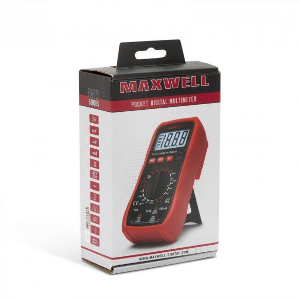 Multiméter Maxwell Digitális 25210