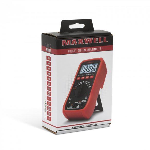 Multiméter Maxwell Digitális 25211