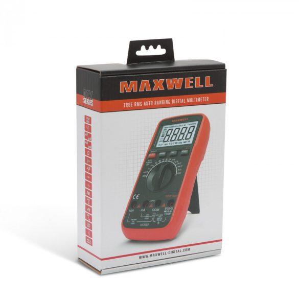Multiméter MAXWELL 25303 Digitális hőmérséklet méréssel (TRUE RMS)