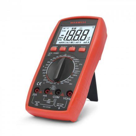 Multiméter induktivitás méréssel 25306