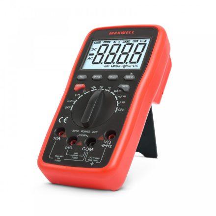 Multiméter 5az1-ben USB-s kapcsolat PC-vel. 25328