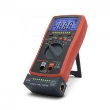 Multiméter Digitális Maxwell automata kábel teszterrel 25334