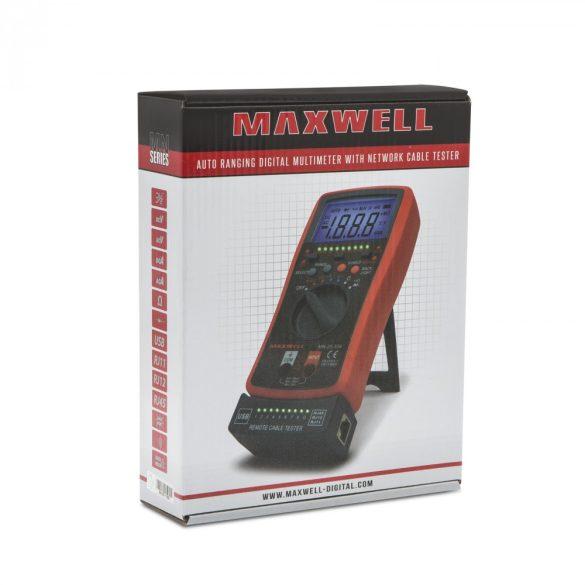 Maxwell MN-25334 Digitális multiméter és kábelteszter