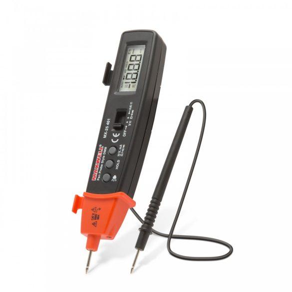 Mérőműszer digitális AC/DC AV, FK, toll, led lámpával 25401