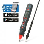 Smart digitális multiméter toll kivitel -Bluetooth kapcsolattal Maxwell 25520