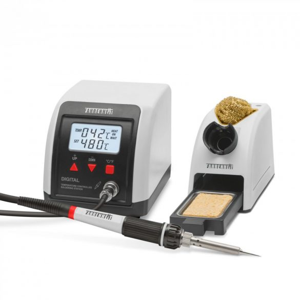 FAHRENHEIT Digitális forrasztóállomás 230V • 60W 160 - 480°C 28013